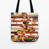 Glitch Pin-Up Redux: Kimberly Tote Bag