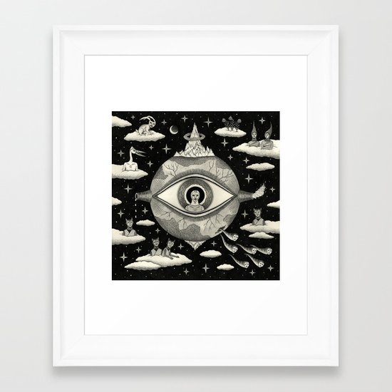 Some Sort of Mystical Explanation Framed Art Print