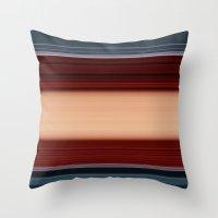 Stripes 173A Throw Pillow