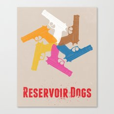 Resevoir Dogs Canvas Print