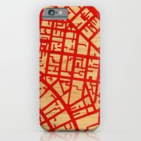 Map of the Town iPhone 6 Slim Case