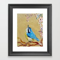 Spring Songbird  Framed Art Print