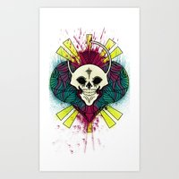 The Beauty of Color and the Strange Art Print