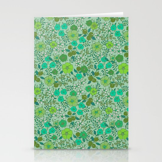 Floral2 Stationery Card