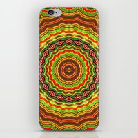 Trippy mandala  iPhone & iPod Skin