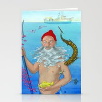 Ruler of the Deep Stationery Cards