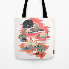 Landscape of Dreams Tote Bag