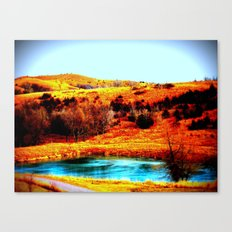 relax// Canvas Print
