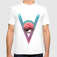 VOID #1 Mens Fitted Tee White SMALL