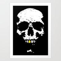 Skullboy Logo Art Print