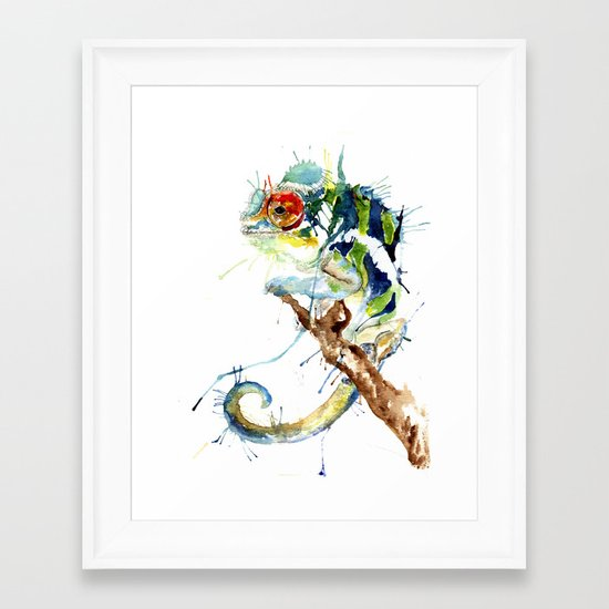 My Chameleon Framed Art Print