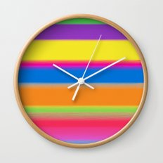 Candy Stripes. Wall Clock