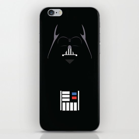Star Wars - Darth Vader Minimalist iPhone & iPod Skin