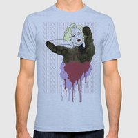 Monroe Mens Fitted Tee Athletic Blue SMALL
