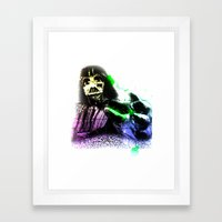 UNREAL PARTY 2012 DARTH VADER STAR WARS Framed Art Print