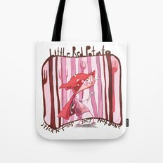 Little Red Potato Tote Bag
