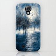Paisaje Y Color (azul) Galaxy S4 Slim Case