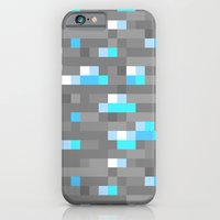 Mined Diamond Block Everything iPhone 6 Slim Case