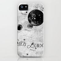 iPhone 5s & iPhone 5 Cases featuring Solis Mundo II by HappyMelvin