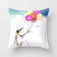 Let There Be Flight Throw Pillow