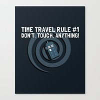 Rule Number One Canvas Print
