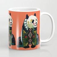 Panda Orange Mug