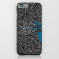 Dublin City Map Black Co… iPhone 6 Slim Case