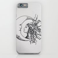 iPhone & iPod Case featuring MOON CHILD by Brianna Saba