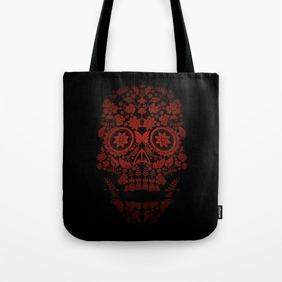 Day of the Dead Skull No.20 Tote Bag