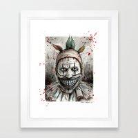 Freak-Show TWISTY Framed Art Print