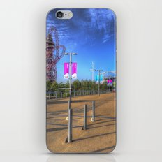 West Ham Olympic Stadium And The Arcelormittal Orbit  iPhone & iPod Skin