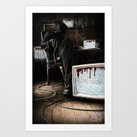 What We Bleed Art Print