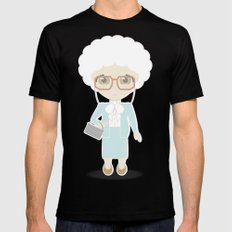 Girls in their Golden Years - Sophia Black SMALL Mens Fitted Tee