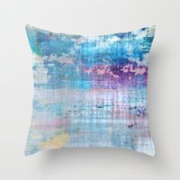 Les Aventures - JUSTART © Throw Pillow