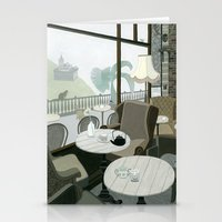 Cafe With A View Of The … Stationery Cards