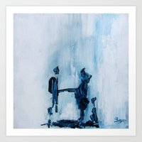 Moral Contemplations Art Print