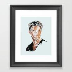 Tom Cruise Framed Art Print