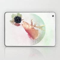 Deer Howling for NATURE!  Laptop & iPad Skin