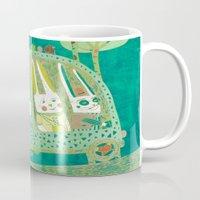 Rabbit journey Mug