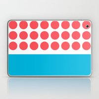 Forty Red Dots Over The … Laptop & iPad Skin