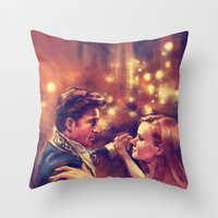 The Waltz Throw Pillow