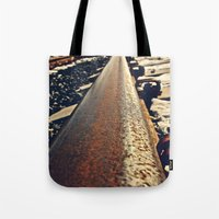 Tacoma train tracks Tote Bag