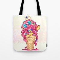 Ice-Cream Zombie Girl Tote Bag