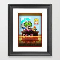 Pixel Art Series 8 : My … Framed Art Print