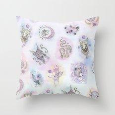 Spirit Animals Throw Pillow