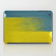 clashing brushstrokes iPad Case