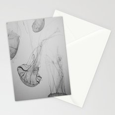 Descending Jellies Stationery Cards