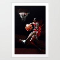AIR X JORDAN Art Print