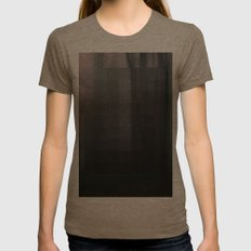 A Trees Womens Fitted Tee Tri-Coffee SMALL