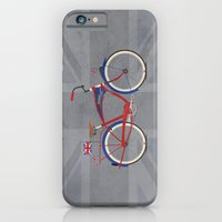 iPhone & iPod Case featuring British Bicycle by Wyatt Design